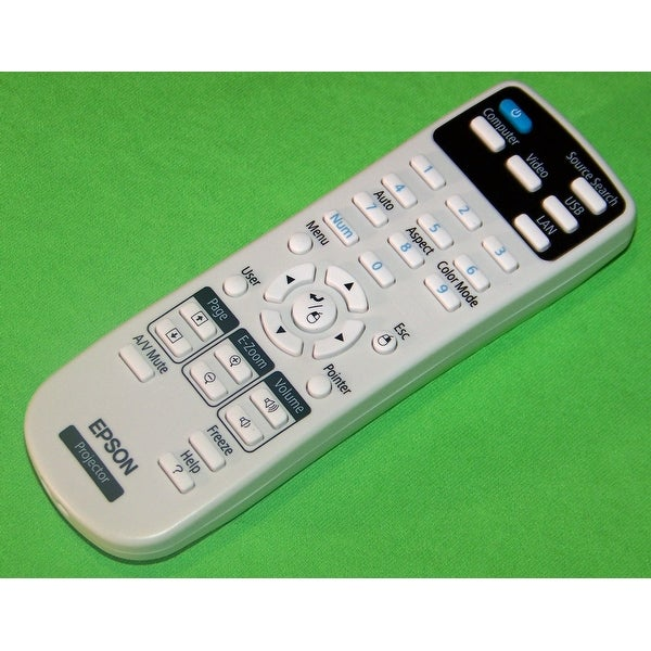 Epson Projector Remote Control: PowerLite Home Cinema 725HD & 730HD