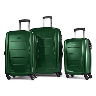 Samsonite Winfield 2 Fashion 3 Piece Set, Emerald Green