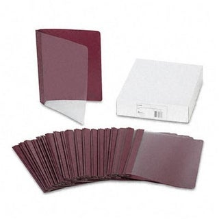 Coated Paper Report Cover Tang Clip Letter 1/2 Capacity
