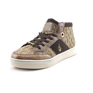 Baby Phat Aria Mid Jaquard Women Round Toe Canvas Sneakers