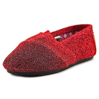 Dawgs Smoking slipper Toddler Round Toe Synthetic Red Slipper
