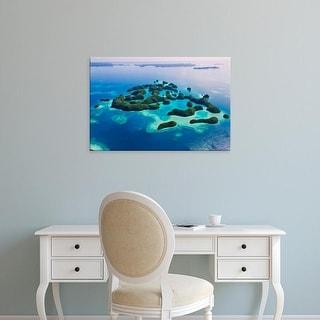 Easy Art Prints Keren Su's 'Rock Islands Iii' Premium Canvas Art