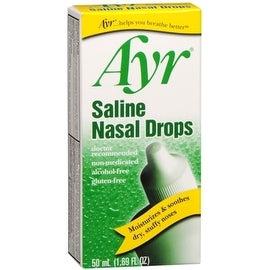 Ayr Saline Nasal Drops 50 mL
