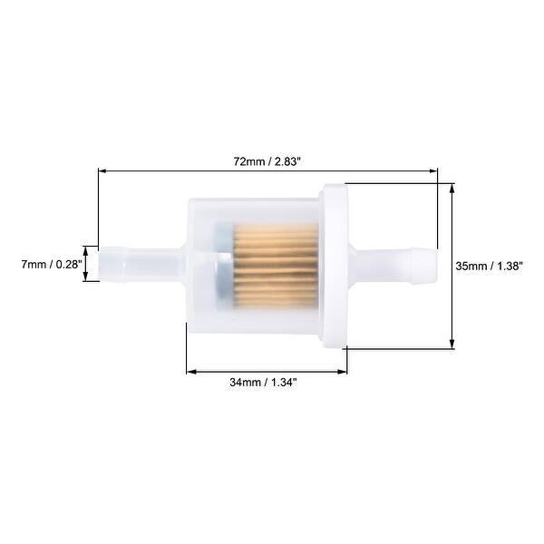 [DIAGRAM_38DE]  Shop 691035 Fuel Filter for Briggs & Stratton Engines 1/4'' I.D. Fuel Line Lawn  Mower - On Sale - Overstock - 30401447 | Lawn Mower Fuel Filter |  | Overstock.com