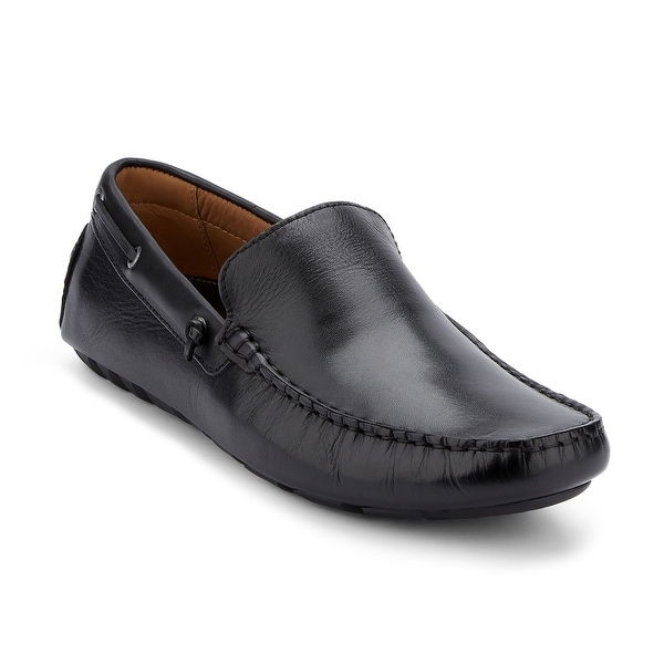 a779657fce5 Shop G.H. Bass   Co. Mens Walter Leather Casual Driver Loafer Shoe ...