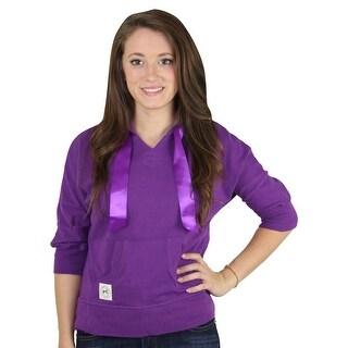 Tommy Hilfiger Junior's 3/4 Sleeve Pullover Hoodie Sweatshirt