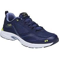 Ryka Women's Sky Bolt Walking Shoe Blue/Yellow/Blue