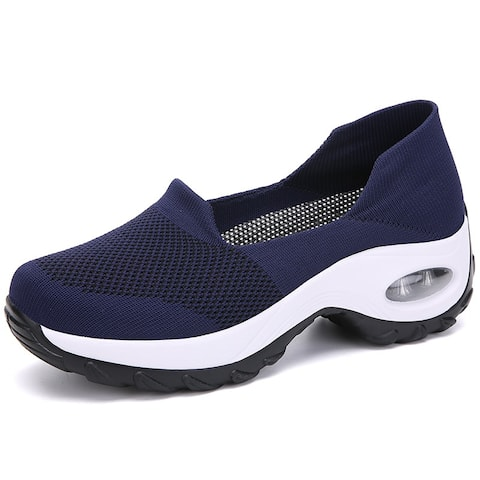 Breathable Walking Shoes Mesh Sneakers
