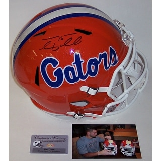 Tim Tebow Autograhed Hand Signed Florida Gators Speed Full Size Helmet