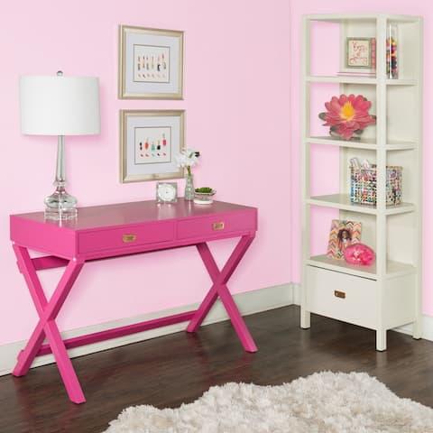 Poppy Raspberry Writing Desk