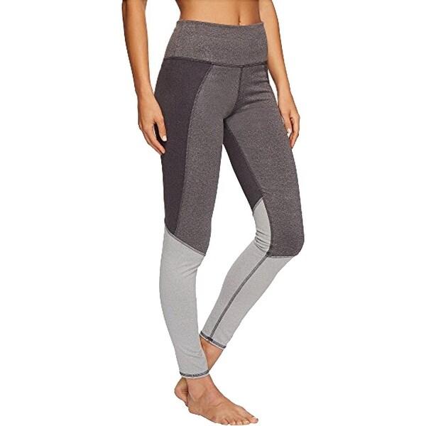 Splendid Women's Heathered Colorblock Quick Dry Activewear Fitness Leggings. Opens flyout.