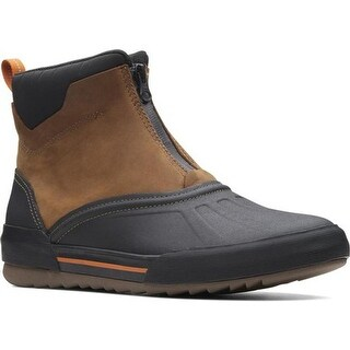 Clarks Men's Bowman Top Duck Boot Dark Tan Leather