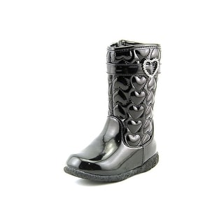 Nina Courtneey Round Toe Synthetic Mid Calf Boot
