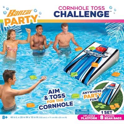 Banzai Party Inflatable Cornhole Toss Challenge