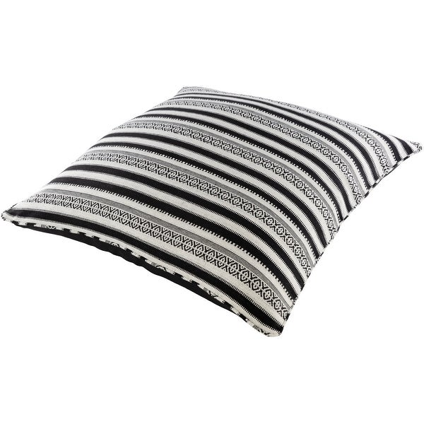 Madora Boho Striped 30-inch Floor Pillow. Opens flyout.