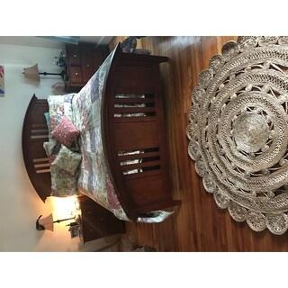 Safavieh Hand-Woven Natural Fiber Coastal Natural Jute Rug - 5' x 5' Round