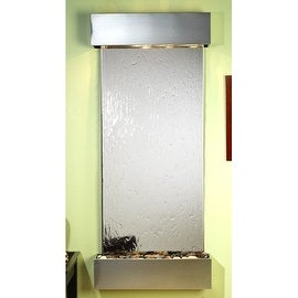 Adagio Inspiration Falls Wall Fountain Silver Mirror Stainless Steel - IFS2040