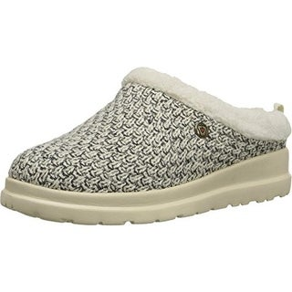 Skechers Womens Cherish Marled Slip On Clog Slippers - 5.5 medium (b,m)