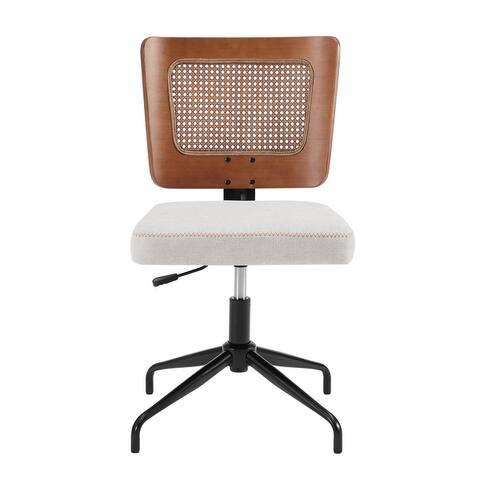 Corvus Oprah 32-36 inch Swivel Upholstery Adjustable Home Office Chair