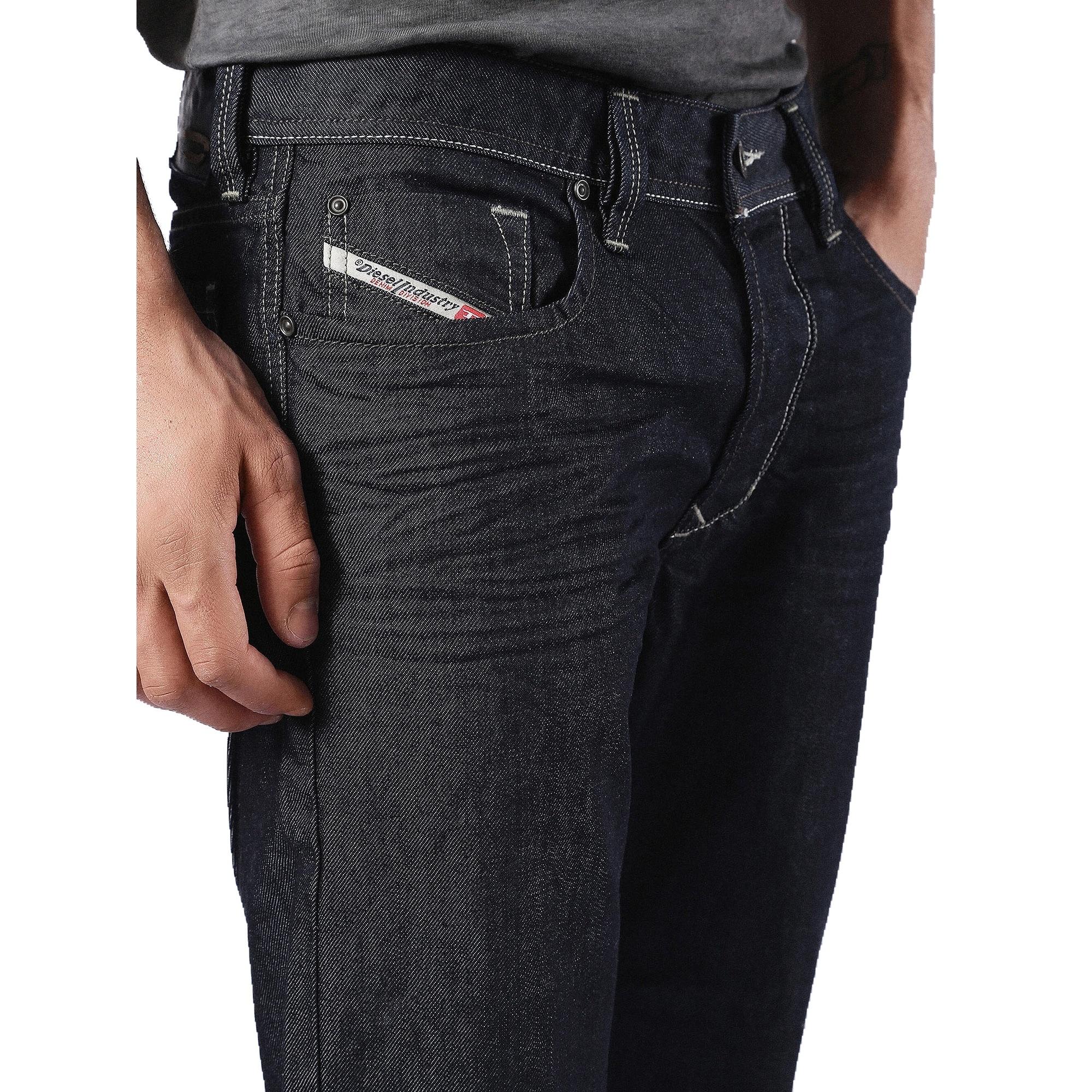 Diesel LARKEE 0088Z Comfort Straight W34 L32 Mens Blue Denim Jeans