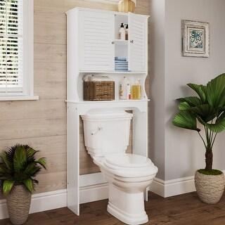 Link to RiverRidge Home Ellsworth Spacesaver Cabinet Hutch Similar Items in Bathroom Furniture