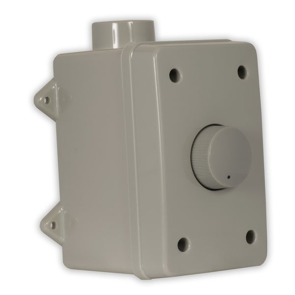 Theater Solutions OVCDG Outdoor Speaker Volume Control Gray Weatherproof Dial