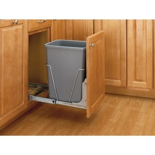Rev-A-Shelf RV-50-52 RV Series Single Bin Replacement Trash Can - 50 Quart Capacity