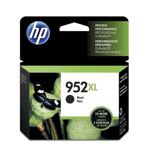 HP 952XL High Yield Black Original Ink Cartridge (F6U19AN)(Single Pack)