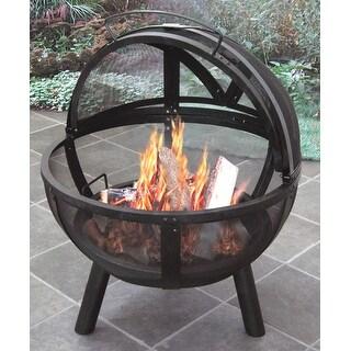 Landmann USA 28925 Ball of Fire Outdoor Fireplace - Black