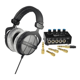 Link to Beyerdynamic DT-990 Pro Acoustically Open Headphones (250 Ohms) Bundle Similar Items in Headphones