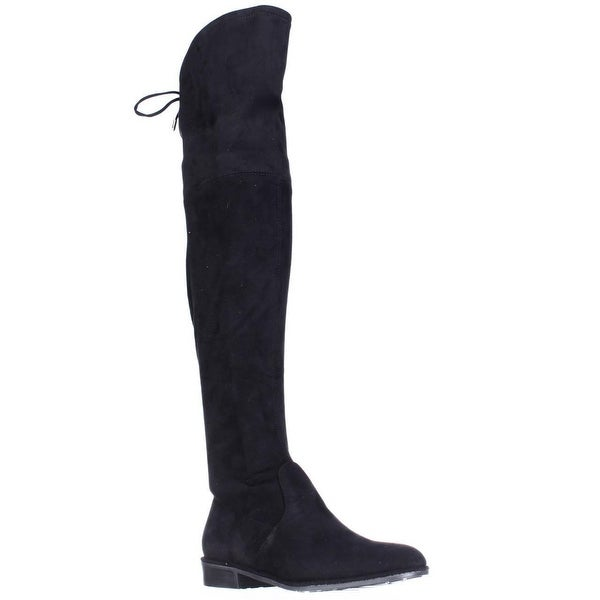 Marc Fisher Humor2 Over the Knee Boots, Black Multi