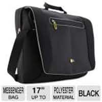 Case Logic PNM-217BLACK Logic 17 In. Notebook Messenger Bag
