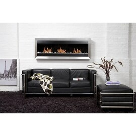 Bio Blaze BB-SQXL2 Square Wall Mount Fire Place, X-Large
