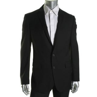 Ryan Seacrest Mens Range 01 Wool Slim Fit Sportcoat