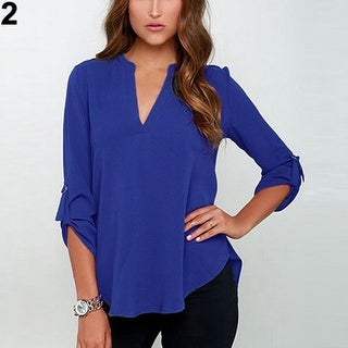 3d8c2c23d03 Blue Tops | Find Great Women's Clothing Deals Shopping at Overstock