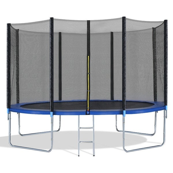 Shop Costway 12ft Trampoline Combo Bounce Jump Safety Enclosure Net