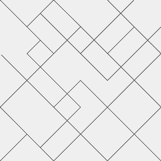 Link to Geometric Black and White Thin Lines Removable Wallpaper - 24'' inch x 10'ft Similar Items in Wall Coverings