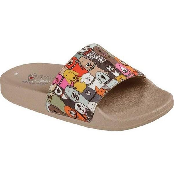 9f292b2625c Shop Skechers Women s BOBS Pop Ups Doggie Paddle Slide Sandal Multi ...