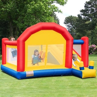 Link to Costway Inflatable Bounce House Slide Bouncer Castle Jumper Playhouse Similar Items in Outdoor Play