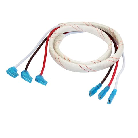 """5HP Hermetic Lead Wire Cable 39.4"""" for Air Conditioning Compressor Motor"""