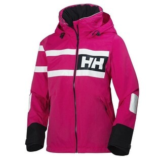 Helly Hansen Jacket Womens W Salt Power DWR 2 Ply Fully Sealed 36279