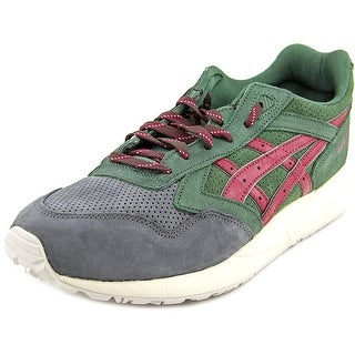 Asics Gel Saga Men  Round Toe Suede Green Sneakers
