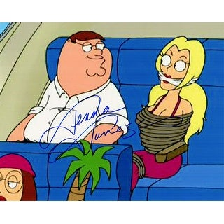 Jenna Jameson Signed Family Guy With Peter Griffin 8x10 Photo