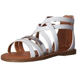 Nina Girls Honey Leather Gladiator Sandals - 1
