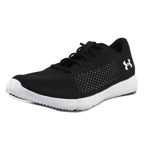 Under Armour Rapid Women Round Toe Synthetic Black Running Shoe