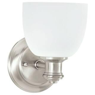 Brushed Park Harbor Wall Lights For Less Overstock - 8 light bathroom fixture