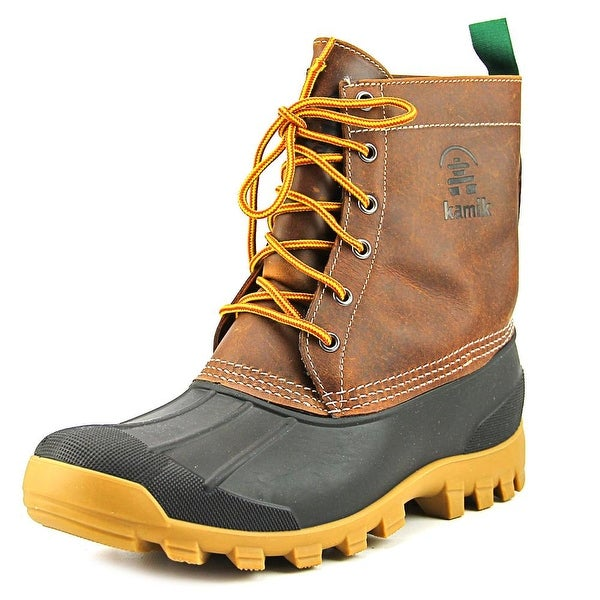 Kamik Yukon 6 Round Toe Leather Hunting Boot