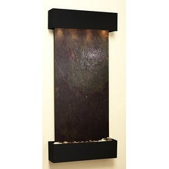 Adagio Cascade Springs Wall Fountain Rajah FeatherStone Blackened Copper - CSS15