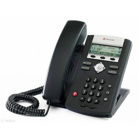 Polycom SoundPoint IP 335 (2200-12375-001) SoundPoint IP 335 2-Line IP Phone w/ AC