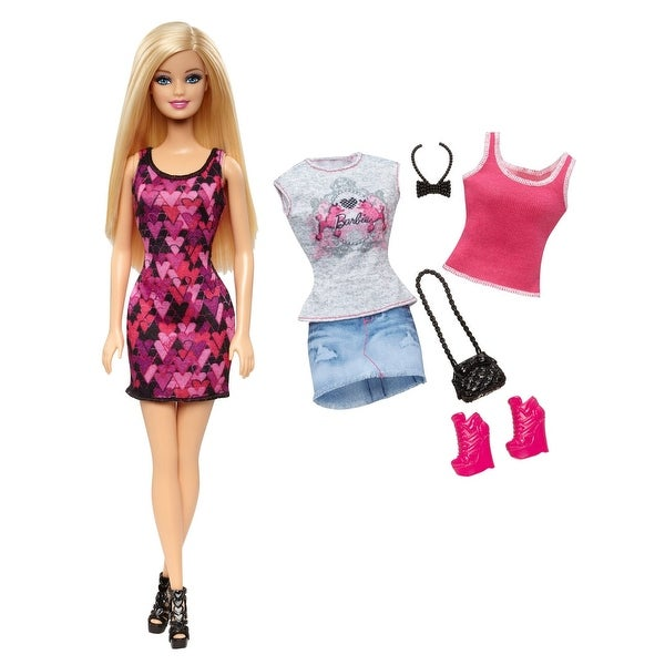 Barbie Doll and Fashion Giftset